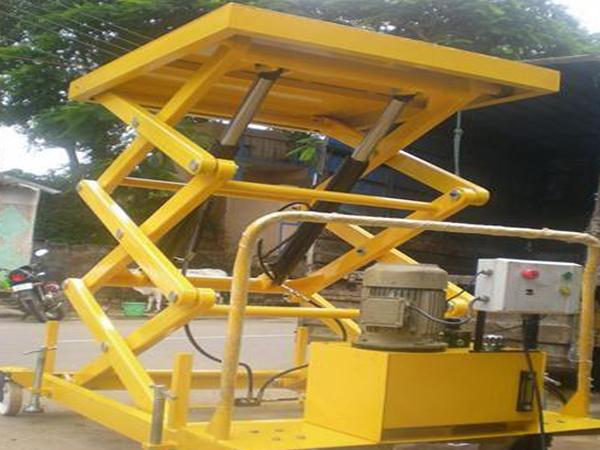 Scissor Lift | Scissor Lift Manufactures | wire rope hoist in india